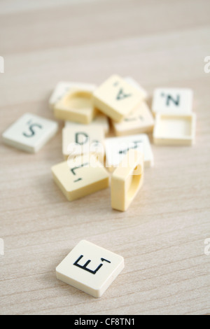 Lots of different letters - Stock Photo