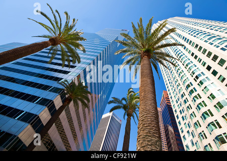 United States, California, Los Angeles, Downtown - Stock Photo