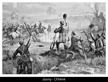 Charge of Indian Cavalry - Stock Photo