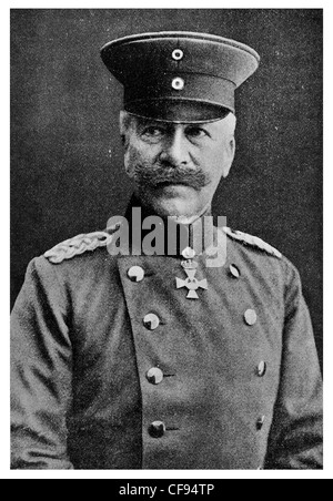Hermann von François (January 31, 1856 – May 15, 1933) was a German General der Infanterie during World War I, - Stock Photo