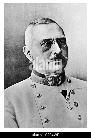 General Count Viktor Dankl von Krasnik highly decorated career Austro-Hungarian officer - Stock Photo