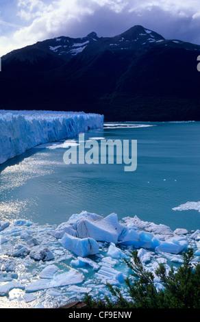 Perito Moreno glacier, El Calafate, Argentine Stock Photo ...
