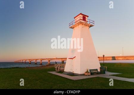 Lighthouse park provides foreground Confederation - Stock Photo