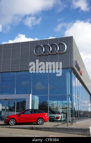 Audi Dealer Dealership Showroom Car Cars New Volkswagen