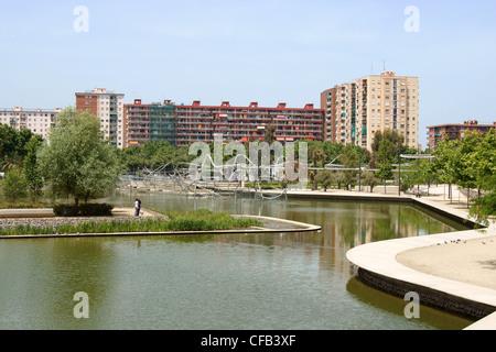Parc de Diagonal Mar, Barcelona - Stock Photo