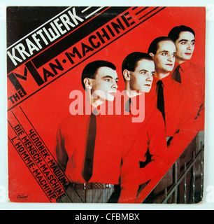 Kraftwerk, The Man Machine album cover - Stock Photo