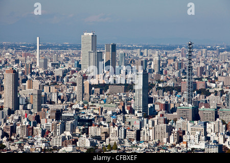 Japan, Asia, Tokyo, city, Tokyo Skyline, Ikebukuro, District, building, architecture big, buildings, busy, city, - Stock Photo