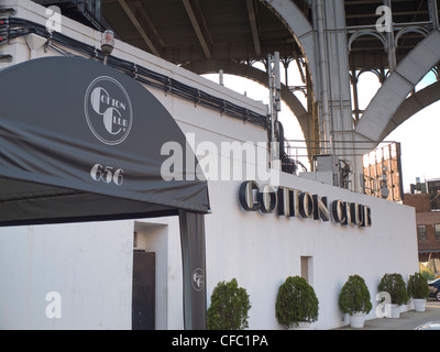 Cotton club in Harlem - Stock Photo