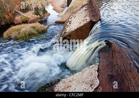 Broken dam - Stock Photo