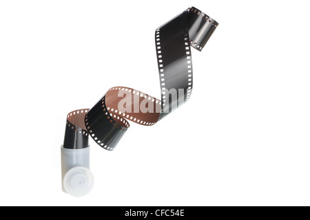 Strip of Camera Film - Stock Photo