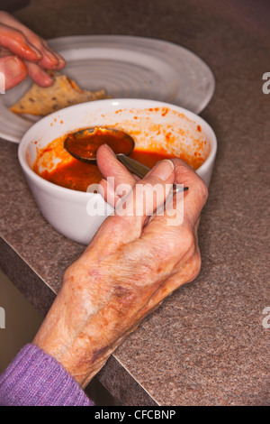 age related concept, povery - Stock Photo