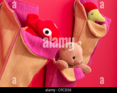 Child's cuddly toys - Stock Photo