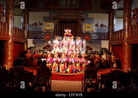 Theater play, Imperial Theater, Citadel, Imperial City, Hue, Trung Bo, Vietnam - Stock Photo