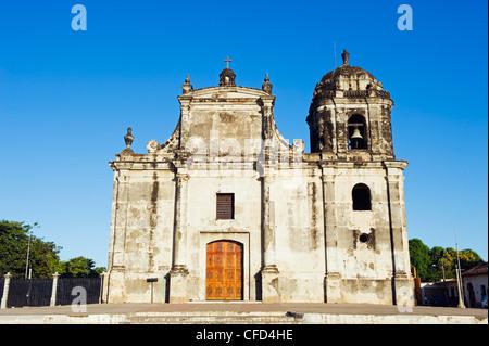 Iglesia de San Juan, Leon, Nicaragua, Central America - Stock Photo