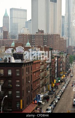 China Town, Manhattan, New York, USA - Stock Photo