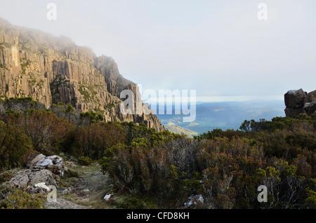 Ben Lomond, Ben Lomond National Park, Tasmania, Australia, Pacific - Stock Photo