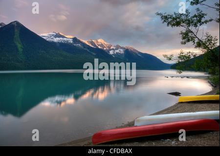 Bowron Lake Provincial Park Bc British Columbia Canada