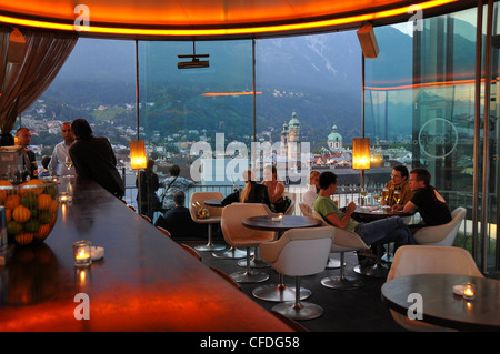 Bar 360grad in the Cityhall Galeries, Innsbruck, Tyrol, Austria, Europe - Stock Photo