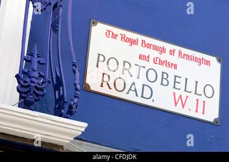 Portobello Road Market, London, England, United Kingdom, Europe - Stock Photo