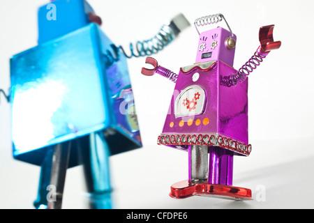 Toy robots - Stock Photo