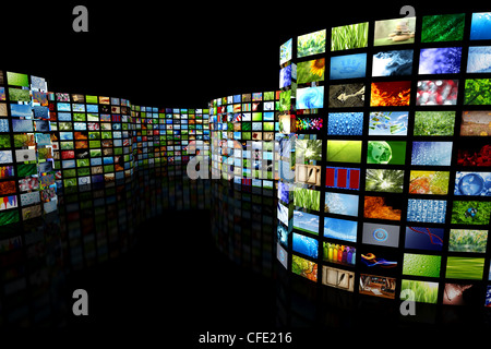 Collection of images - Stock Photo