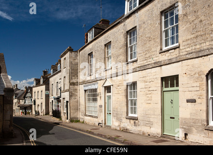 UK, Gloucestershire, Stroud, Painswick New Street - Stock Photo
