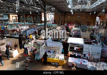 Spitalfields Market, East End, London, England, United Kngdom, Europe - Stock Photo