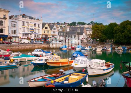 The Quay, Dartmouth, Devon, England, United Kingdom, Europe - Stock Photo