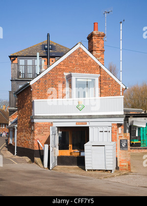 The Watch House on Orford Quay, Suffolk, England - Stock Photo