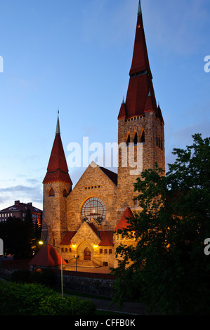 The Cathedral in Tampere, Finland - Stock Photo