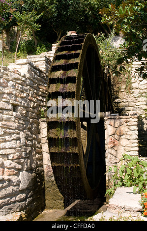 Old waterwheel. - Stock Photo