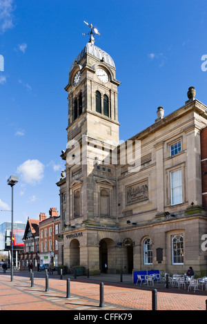 The Guildhall, Market Place, Derby, Derbyshire, East Midlands, England, UK - Stock Photo