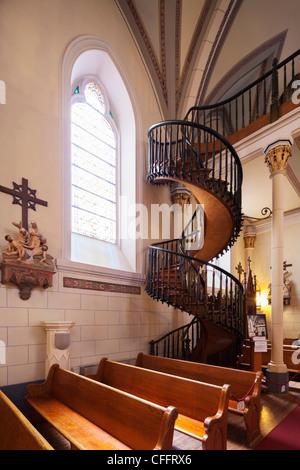 Loretto Chapel Miraculous Staircase Santa Fe New Mexico Nm