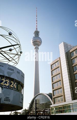 Berlin Alexanderplatz. - Stock Photo