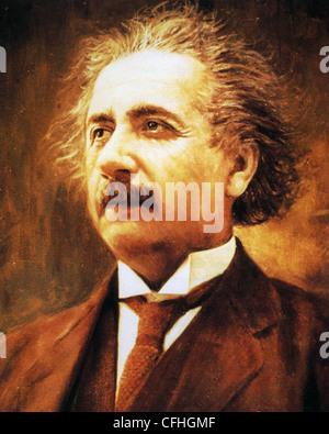 ALBERT EINSTEIN (1879-1955) German-born theoretical physicist - Stock Photo