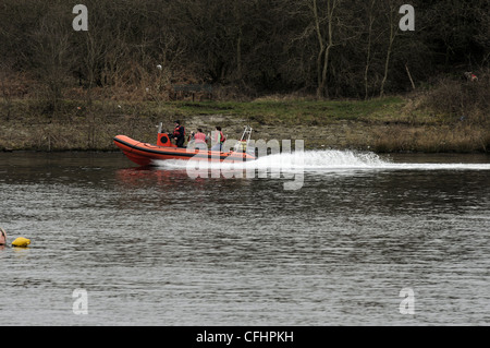 Debdale Outdoor Centre Open Day 11th March 2012 - Stock Photo