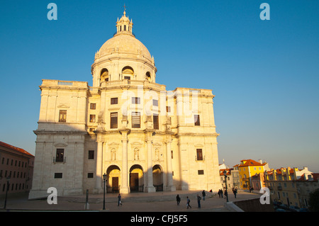 Santa Encracia church aka Pantaeo Nacional Alfama district Lisbon Portugal Europe - Stock Photo