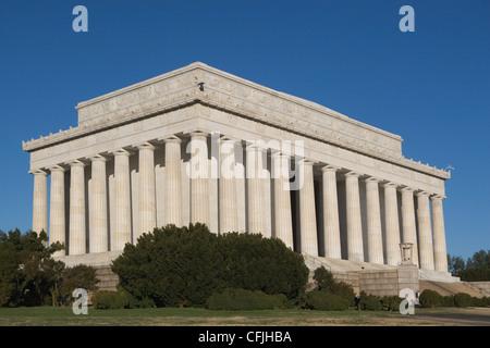 Lincoln Memorial, Washington DC, USA - Stock Photo