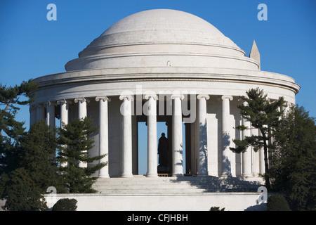 Jefferson Memorial, Washington DC, USA - Stock Photo