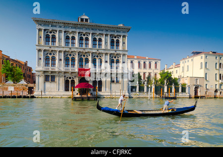 Venice Casino (Casino di Venezia), Grand Canal, Venice, UNESCO World Heritage Site, Veneto, Italy, Europe - Stock Photo