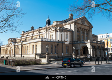Cheltenham Town Hall in Imperial Square, Cheltenham, Gloucestershire - Stock Photo