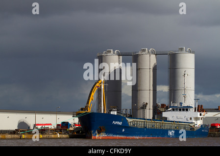 Associated British Ports   Ports Docks And Harbours in Goole visit A B P (Goole), North Humberside, UK - Stock Photo