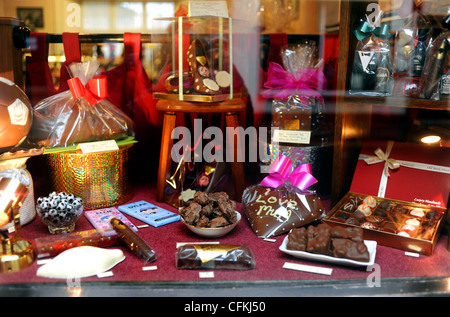 Easter Egg Display In The Window Of The Famous Bettys Cafe