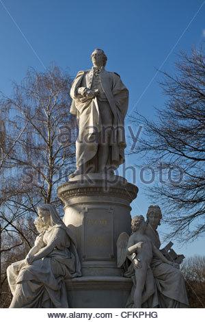 Johann Wolfgang von Goethe - Stock Photo