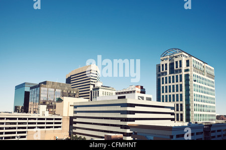 USA, South Carolina, Columbia, Office Blocks - Stock Photo