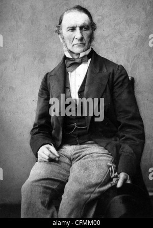 WILLIAM GLADSTONE (1809-1898) British Liberal statesman - Stock Photo
