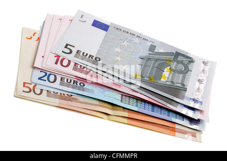 European currency - Stock Photo