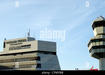 The Airport Berlin-Tegel, Otto Lilienthal - Stock Photo