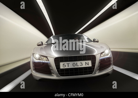 Audi R8 CGI - Stock Photo