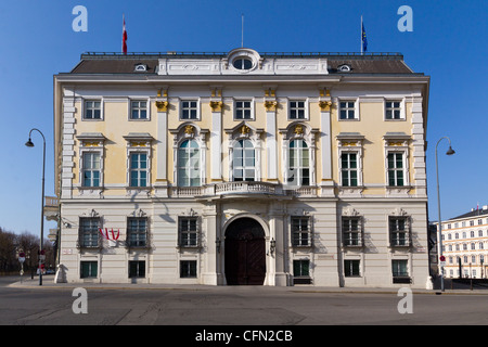 Office of the federal chancellor of Austria in Vienna - Stock Photo
